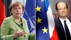 Angela Merkel vs. François Hollande