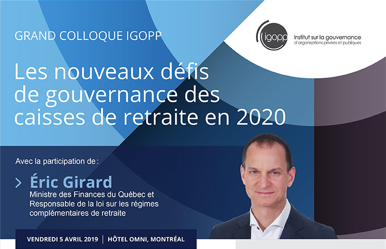 Les nouveaux défis de gouvernance des caisses de retraite en 2020
