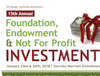 Foundation, Endowment, and Not for Profit Investment Summit