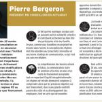 Entrevue de Pierre Bergeron