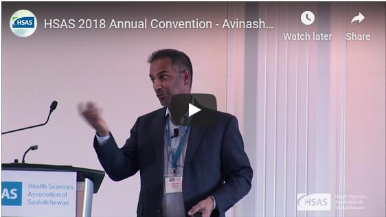 Video of Avinash Maniram's Presentation on Sedentary Living